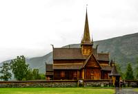 Lom Stave Church, Sogenfjord, Norway.