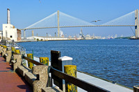 Savannah harbor - one of the nation's busiest.