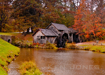 Not New England...  Off the Blue Ridge Parkway in 2011.